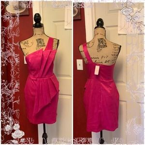 2 for $50-Nwt Romeo & Juliet couture fuchsia dress